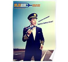 Captain Crieff and Toy Plane Poster