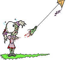 Zombie kite by Skree