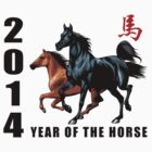 2014 Year of The Horse by ChineseZodiac