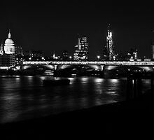 London Skyline by Jane Ruttkayova