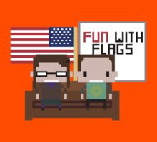 The Big Bang Theory - Fun with Flags by innercoma