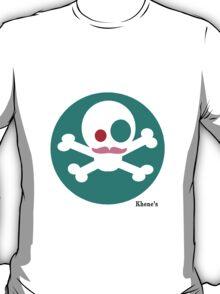 Skull Mustach 8 - Sticker T-Shirt