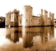 Bodiam Castle by mikebov