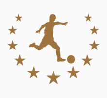 Soccer Player Star Logo by Style-O-Mat