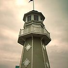 Disney's Yacht Club Lighthouse by triciamary