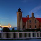 Old Mackinac Point Lighthouse by Megan Noble