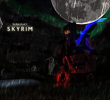 Skyrim: Vampiric Assassin by DarkTempestII