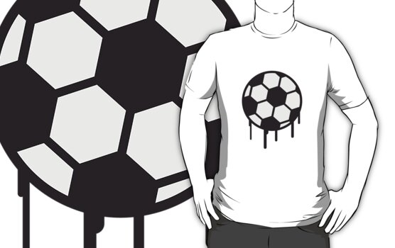 Soccer Ball Graffiti Design by Style-O-Mat