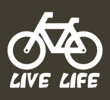 Bike Live Life (dark) by KraPOW