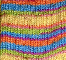 Knitted Sock No. 1 by LeftyLucille