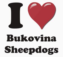 I Heart Bukovina Sheepdogs by HighDesign