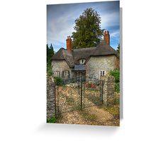 Keys Lodge Cottage Greeting Card