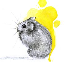Hamster Watercolour by nantia