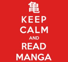Keep Calm And Read Manga Kids Clothes