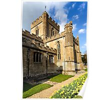 Edington Priory Church, Wiltshire, UK Poster