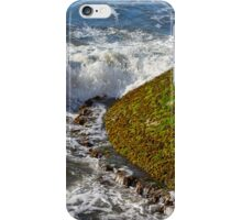 BURGHEAD - THE END OF THE PIER iPhone Case/Skin