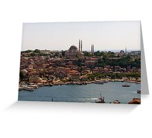 Istanbul 2 Greeting Card