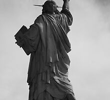 Behind the liberty by Geoffrey Fighiera