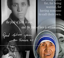 mother teresa  by arteology