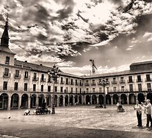 Leon's Plaza Mayor by vribeiro