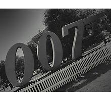 London 007 Sign Photographic Print