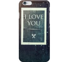 London ILY Sign iPhone Case/Skin