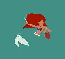 Minimalist Ariel by isabelast