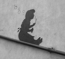 Banksy Hackney by Shannon Friel