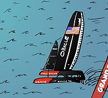 Quand Oracle Team USA gagner l'America's Cup by Binary-Options