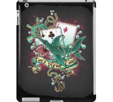 Poker Shark (black)  iPad Case/Skin