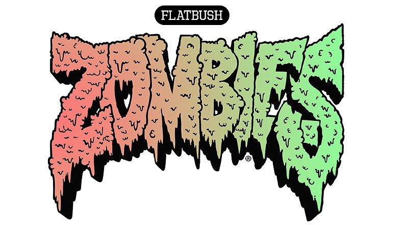 flatbush zombies sticker by lasseuv redbubble