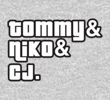 Tommy, Niko, CJ by suburbia