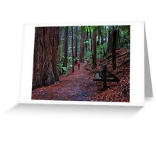 In a World Made for Giants Greeting Card