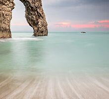 Durdle Door Archway by Chris Frost Photography