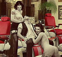 The Barber Shop (detail) by PrivateVices