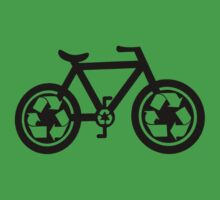 Bicycle Go Green (lite) by PaulHamon