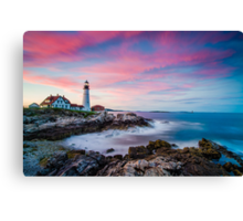 Portlan Head Colors Canvas Print
