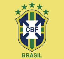 Brazil National Football Team by John Smith
