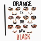 Orange is the new Black [T-shirt] by Mhaddie