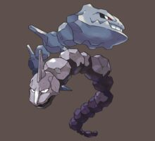 Steelix and Onix by Stephen Dwyer