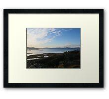 Wide Open Lake Framed Print