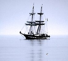 Tall Ship Bangor iPad by Wrayzo