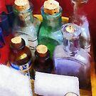 Doctors - Medicine Bottles and Bandages by Susan Savad