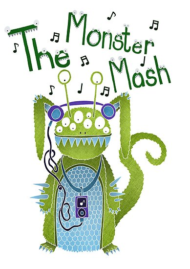 The Monster Mash by Rebecca Wallace