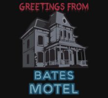 Greetings from the Bates Motel by kingUgo
