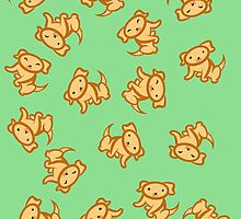 Dogs (Yellow Lab)! [Green] [iPhone/iPod] by Kashidoodles