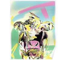 Cow- Happy cow Poster