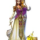 Princess Zelda by KatR17