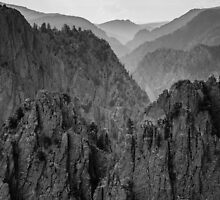 Endless Gunnison - Black Canyon of the Gunnison National Park, Colorado by Jason Heritage