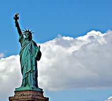Lady Liberty by Karen Checca